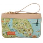 Greetings from Charleston Zip Wristlet